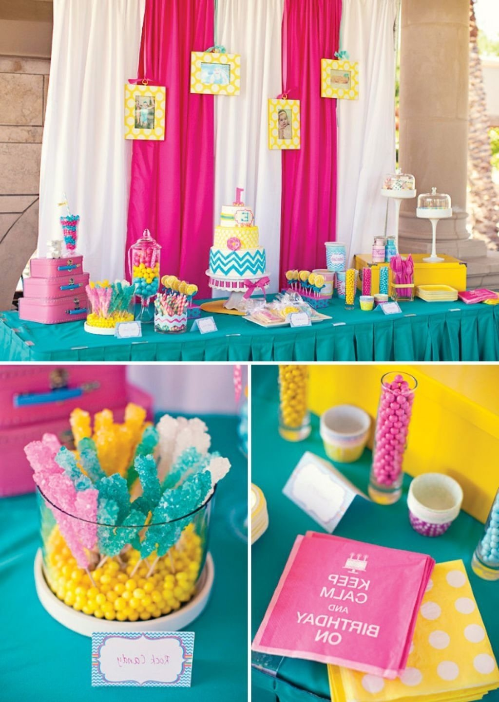 10 Unique Birthday Party Ideas For One Year Old Outdoor Decorations Google Search Madeline
