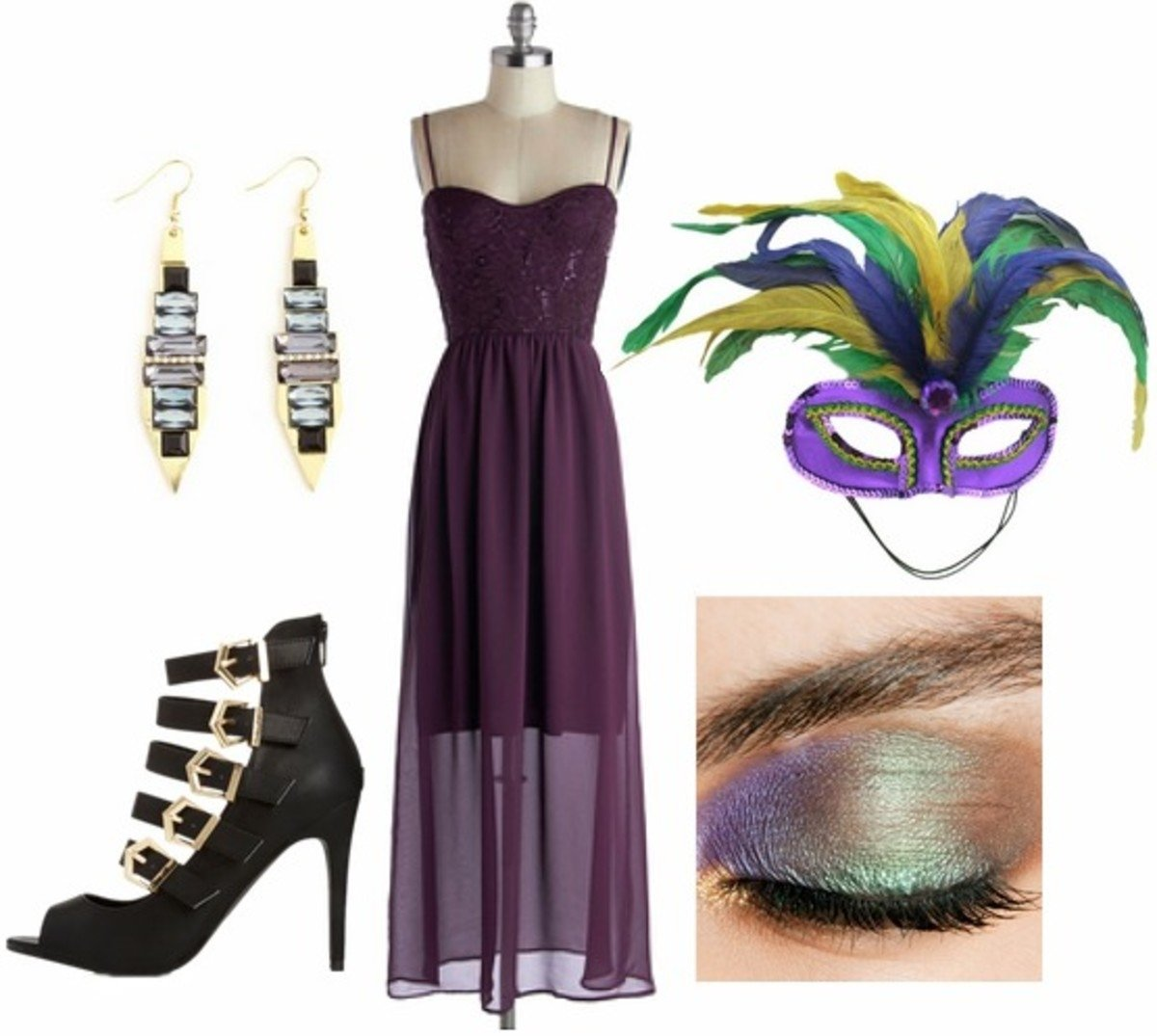 10 Great Mardi Gras Party Outfit Ideas outfits under 100 3 fun mardi gras party looks college fashion 1 2020