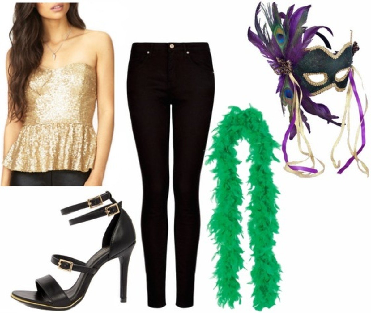 10 Great Mardi Gras Party Outfit Ideas outfits under 100 3 fun mardi gras party looks college fashion 2020