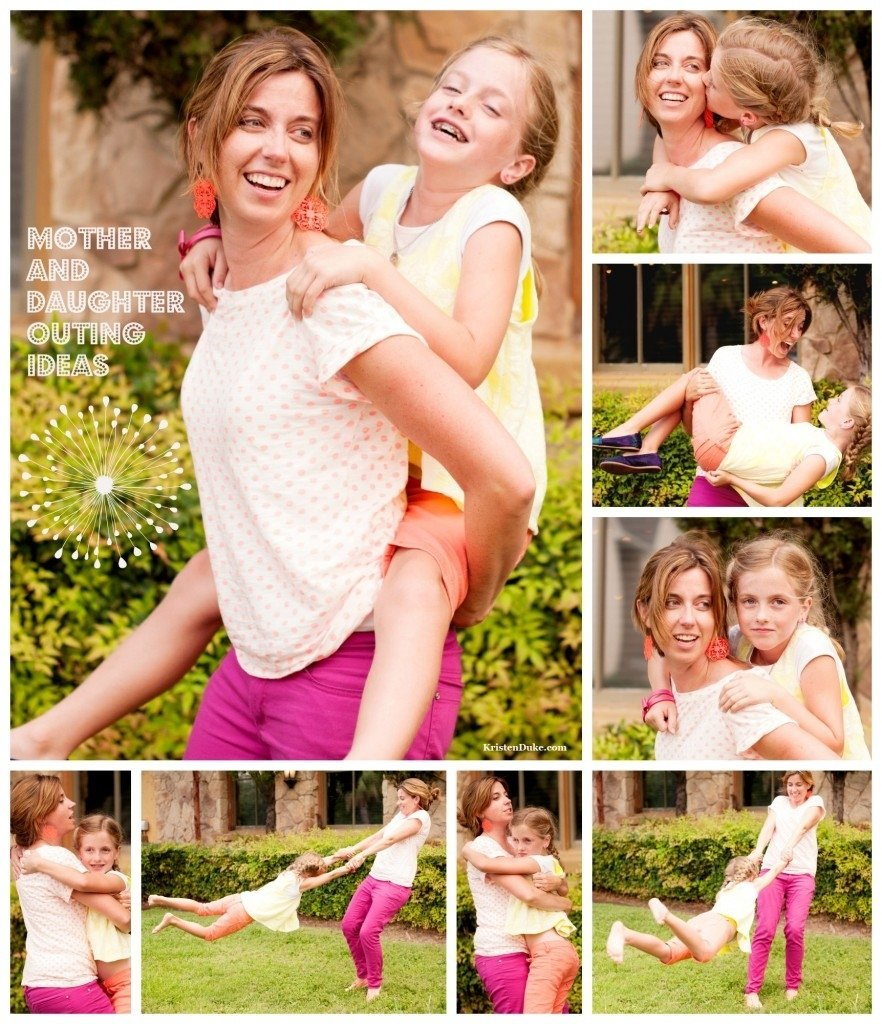 10 Spectacular Mother And Daughter Picture Ideas outing ideas1 882x1024 2020