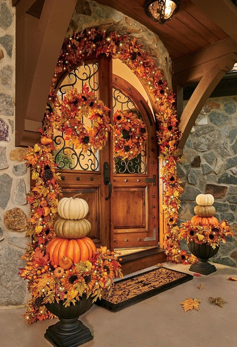 10 Awesome Fall Decorating Ideas For Outside outside fall decorating ideas improvements blog 2020