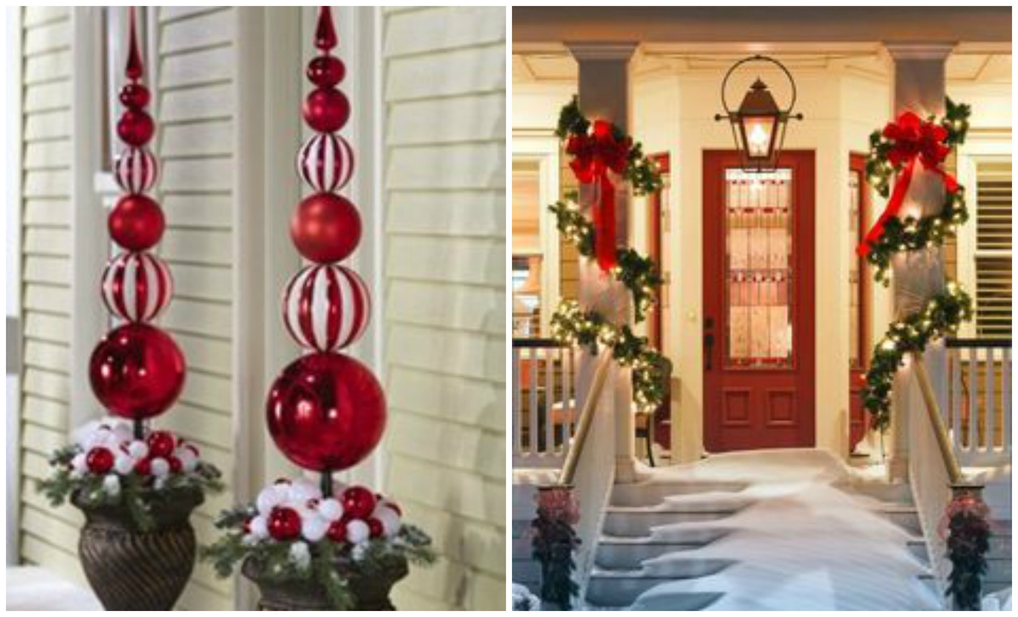 10 Lovable Outdoor Decorating Ideas For Christmas outside holiday christmas decorating ideas youtube