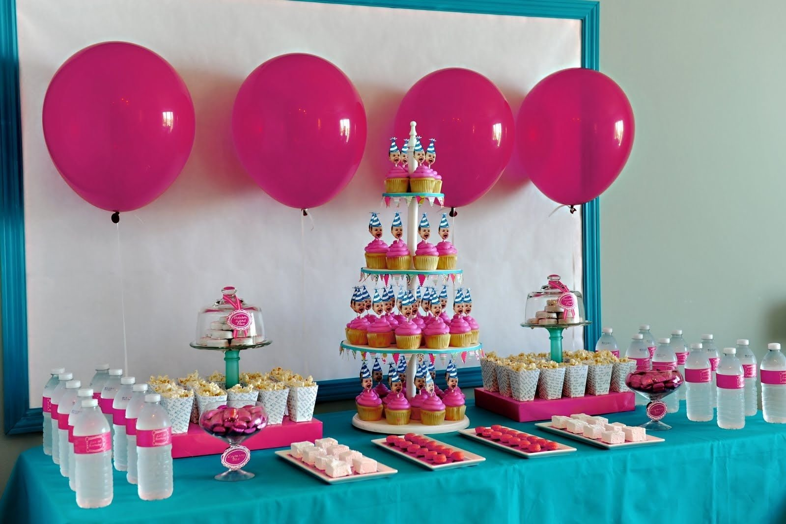 10 Attractive 1St Girl Birthday Party Ideas outside party ideas 1st birthday bella grace party designs real 4 2020