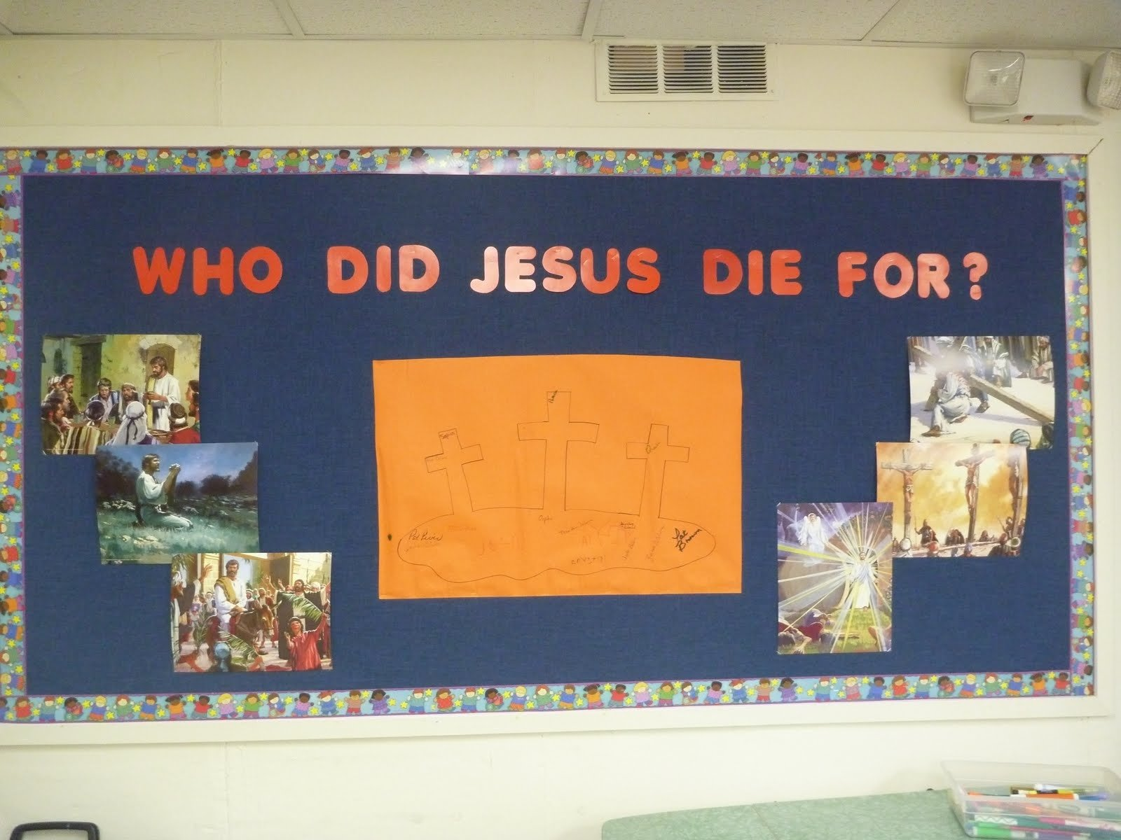 10 Most Recommended Easter Bulletin Board Ideas For Church outside the box easter week bulletin board 2020
