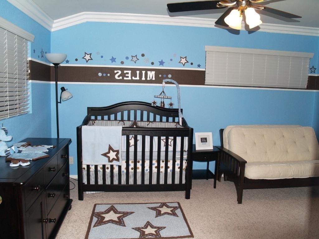 10 Pretty Baby Boy Room Color Ideas