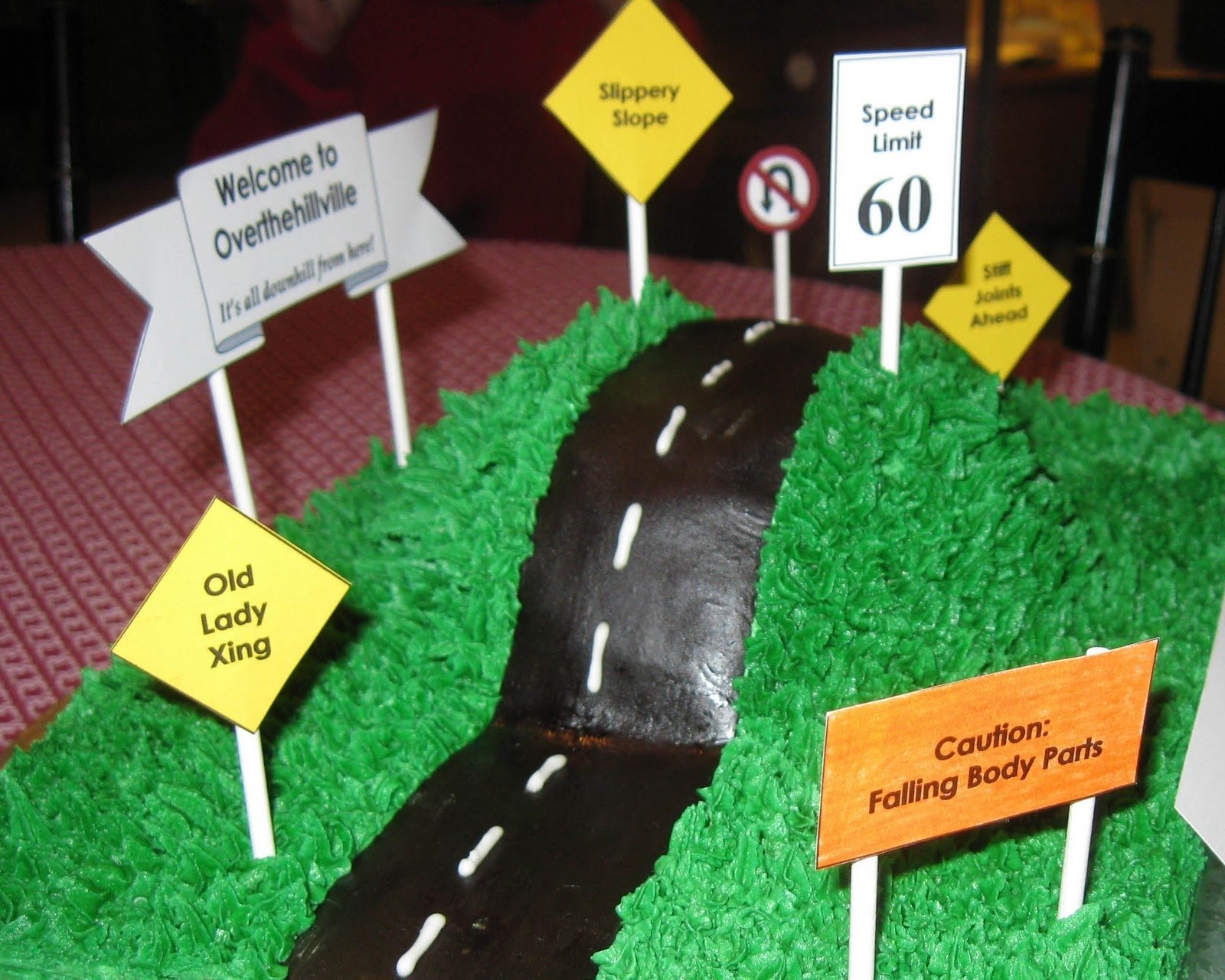 10 Elegant Over The Hill Birthday Party Ideas over the hill cake over the hill cake for my aunts 60th birthday 2020