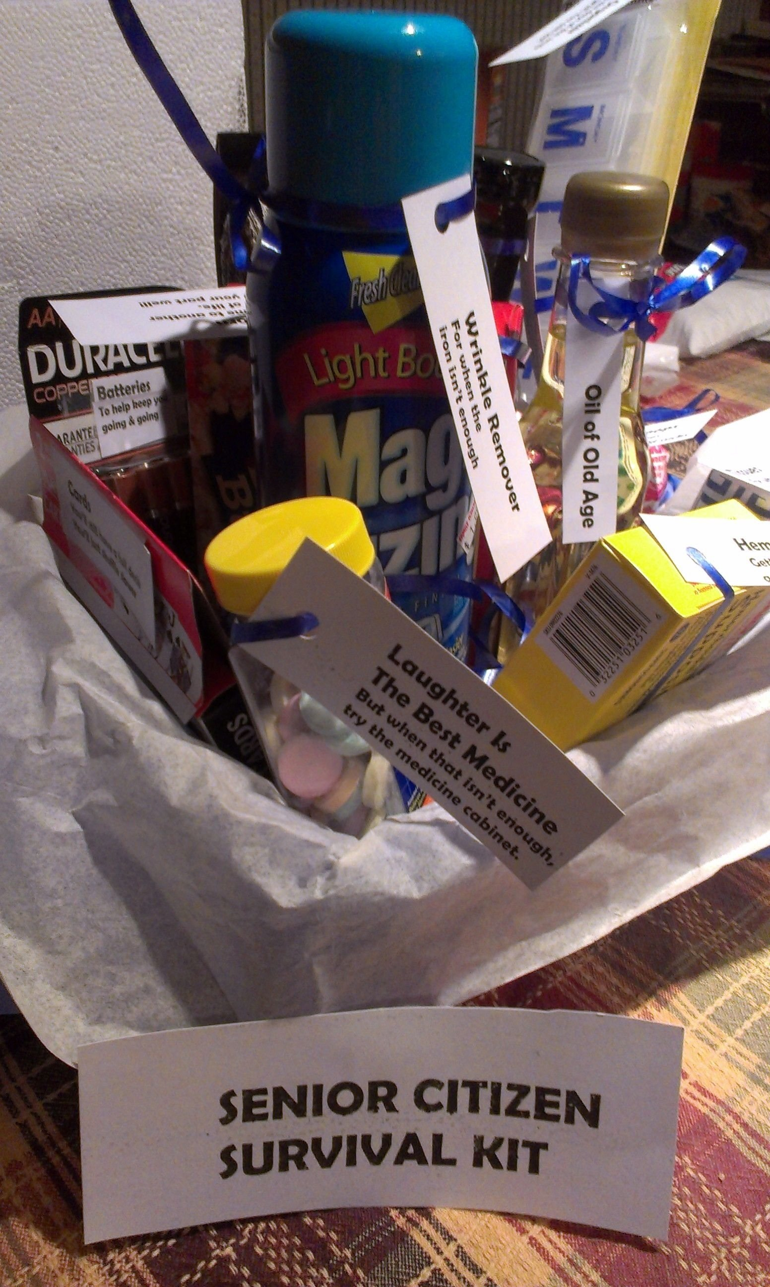"""over the hill"""" survival kit 