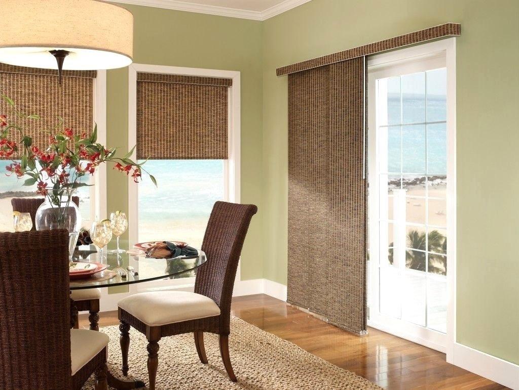 10 Attractive Sliding Door Window Treatments Ideas overwhelming door panel blinds ideas tio door window treatments 2020
