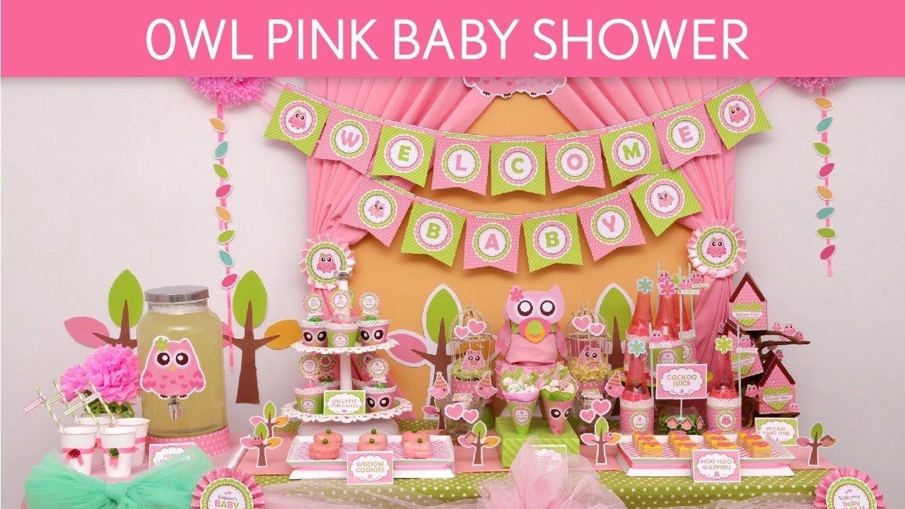 10 Cute Owl Themed Baby Shower Ideas