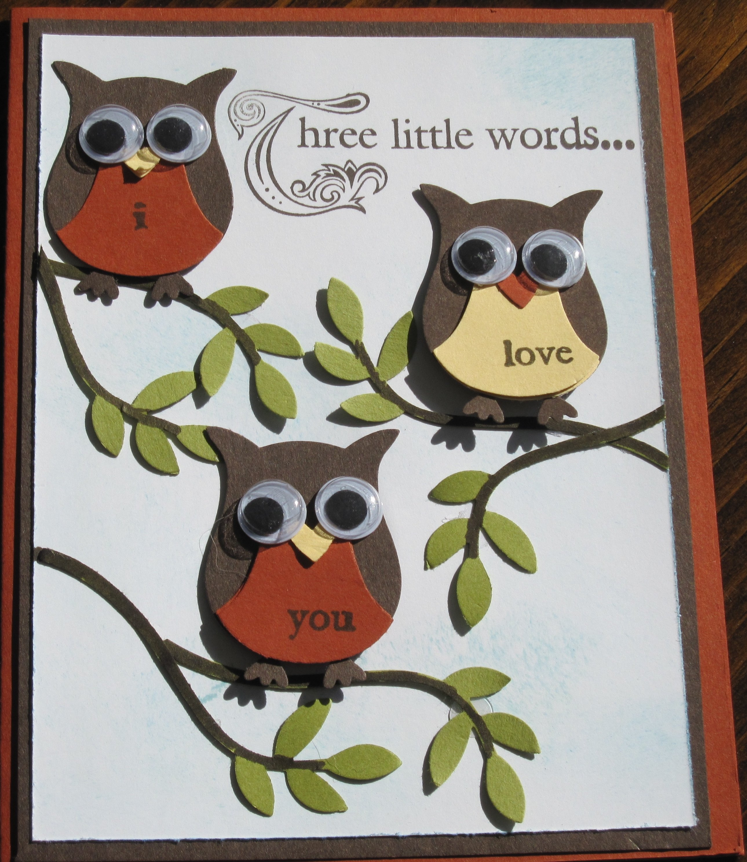 10 Elegant Stampin Up Owl Punch Ideas owl punch card three little words stampinggenies style 2020