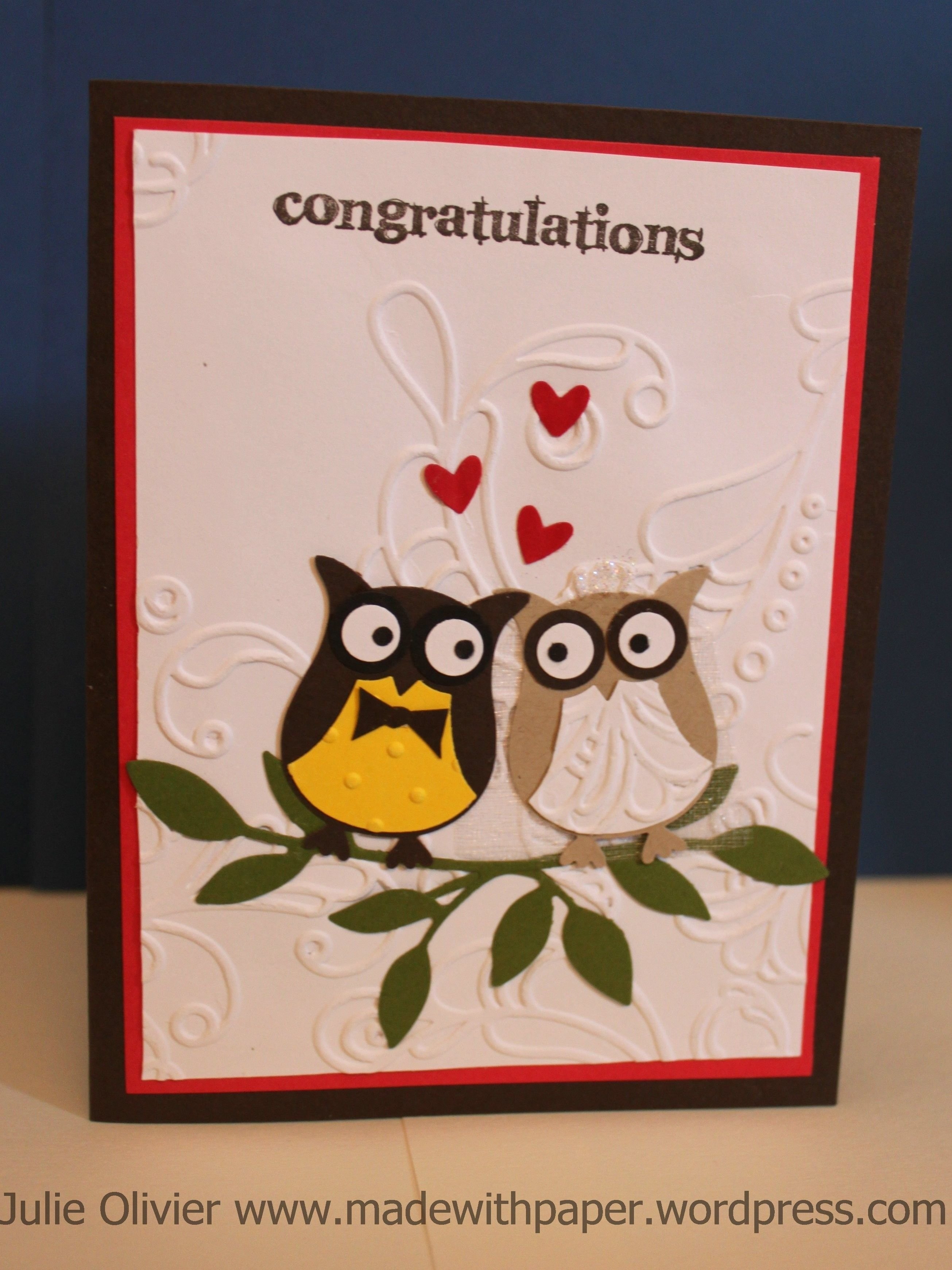 10 Elegant Stampin Up Owl Punch Ideas owl punch week wedding card owl punch stampin up and wedding card 2020