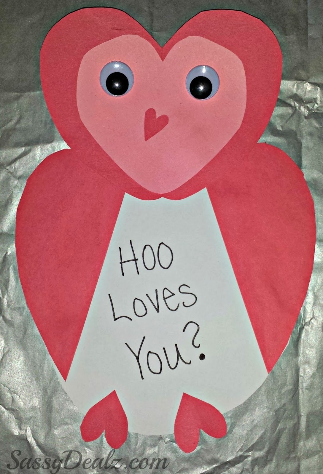 10 Fashionable Valentine Day Card Ideas Homemade owl valentines day card idea for kids crafty morning 4 2020