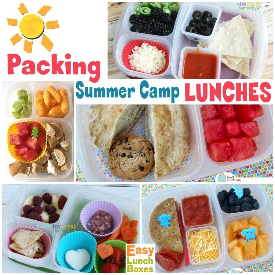 10 Trendy Summer Lunch Ideas For Kids packing summer camp lunches how to and what to pack 4 2020