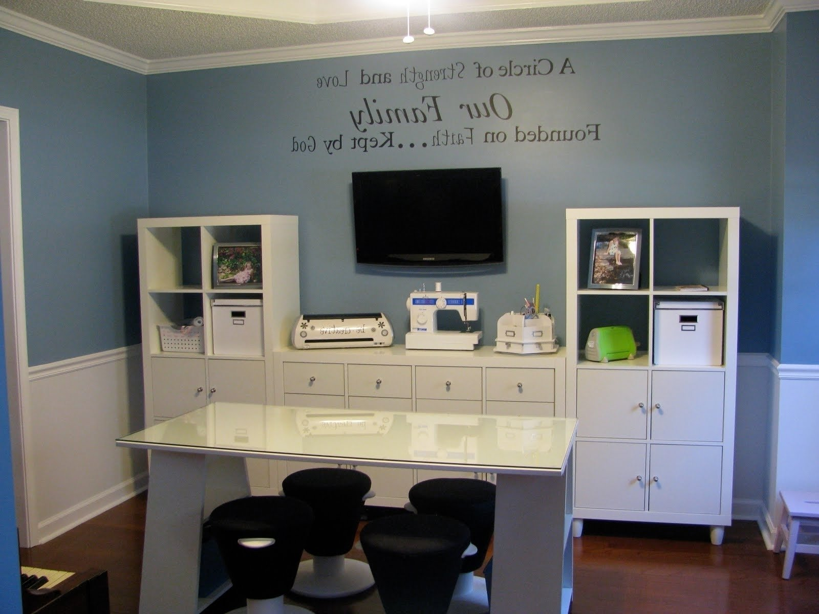 10 Nice Home Office Paint Color Ideas painting ideas for home office fresh home office blue home offices 2020