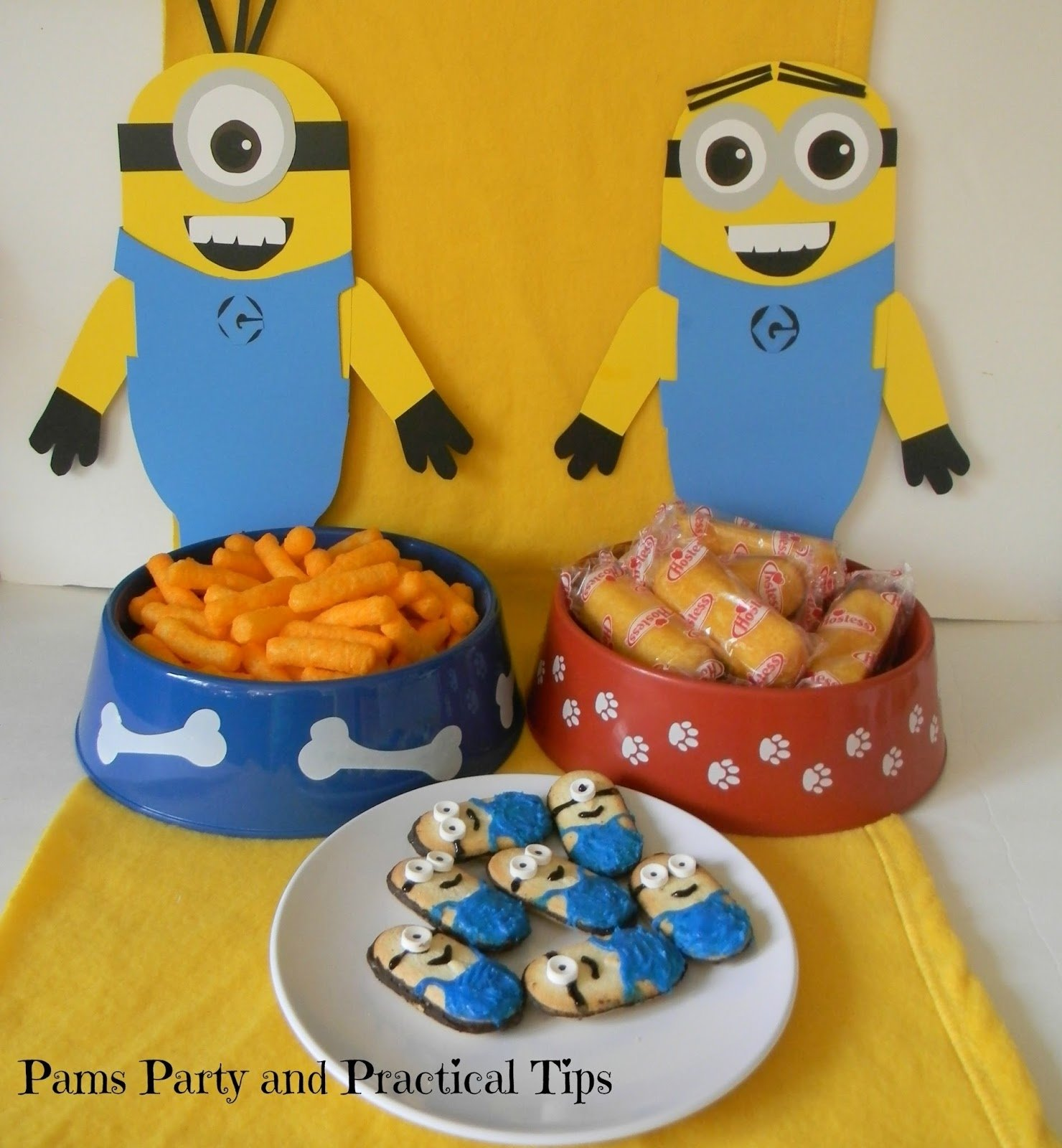 10 Stylish Despicable Me Party Food Ideas pams party practical tips despicable me party food and game ideas