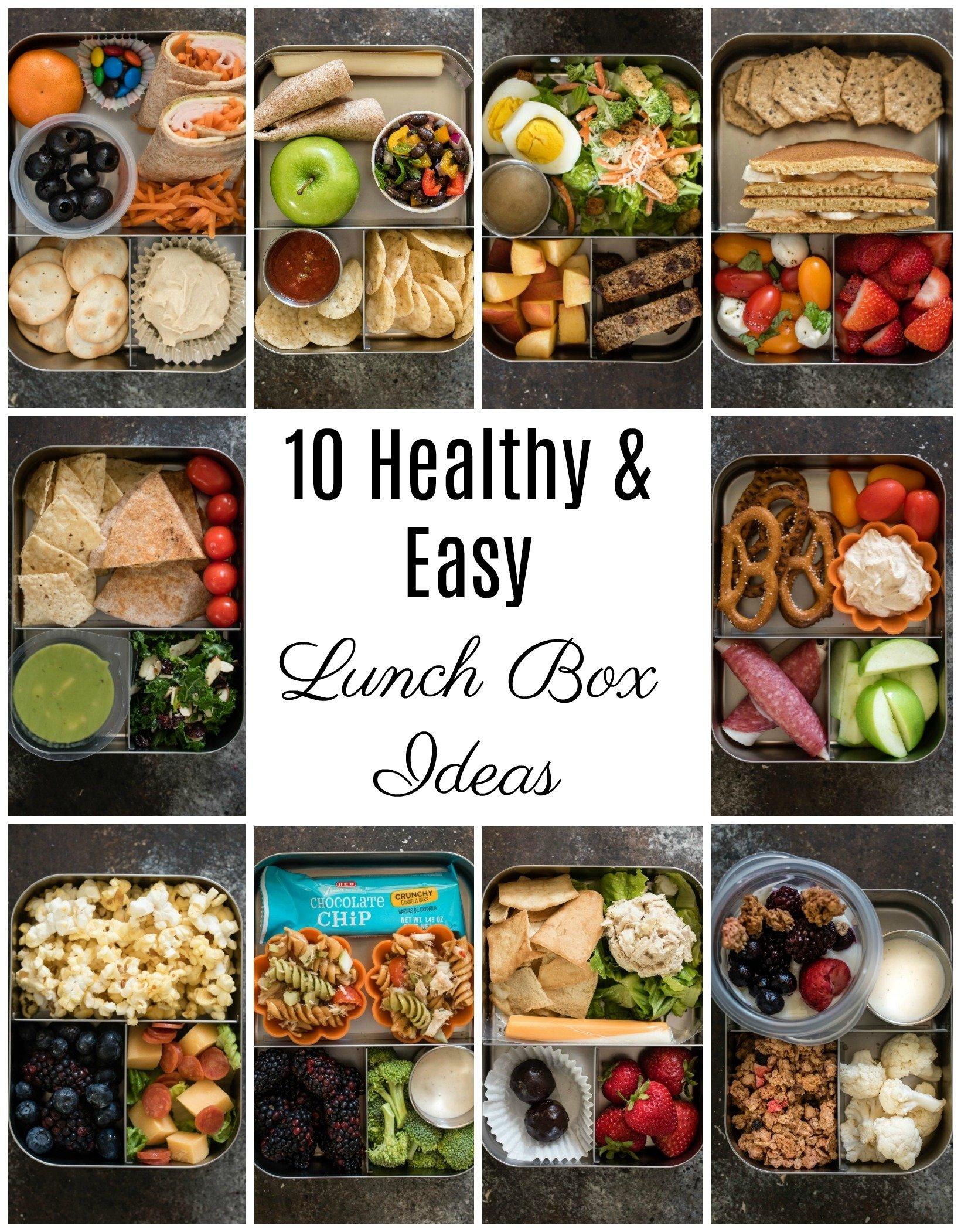 pancake pb banana sandwich and 10 healthy lunch box ideas