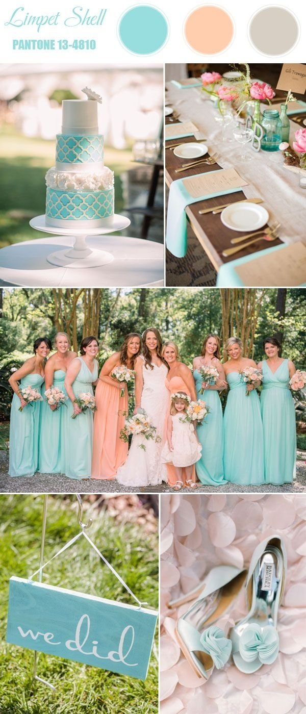 pantone top 10 spring wedding colors 2016 | spring wedding colors