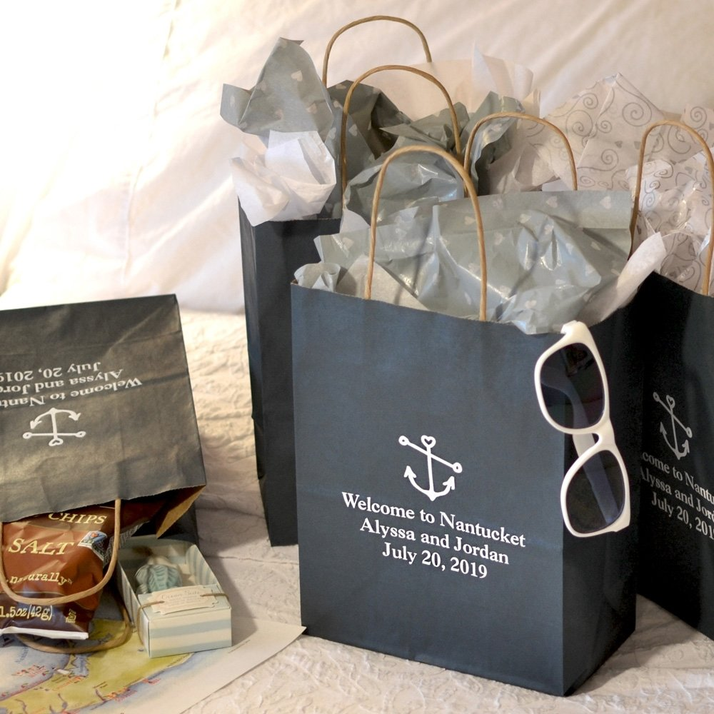 10 Pretty Wedding Guest Gift Bag Ideas