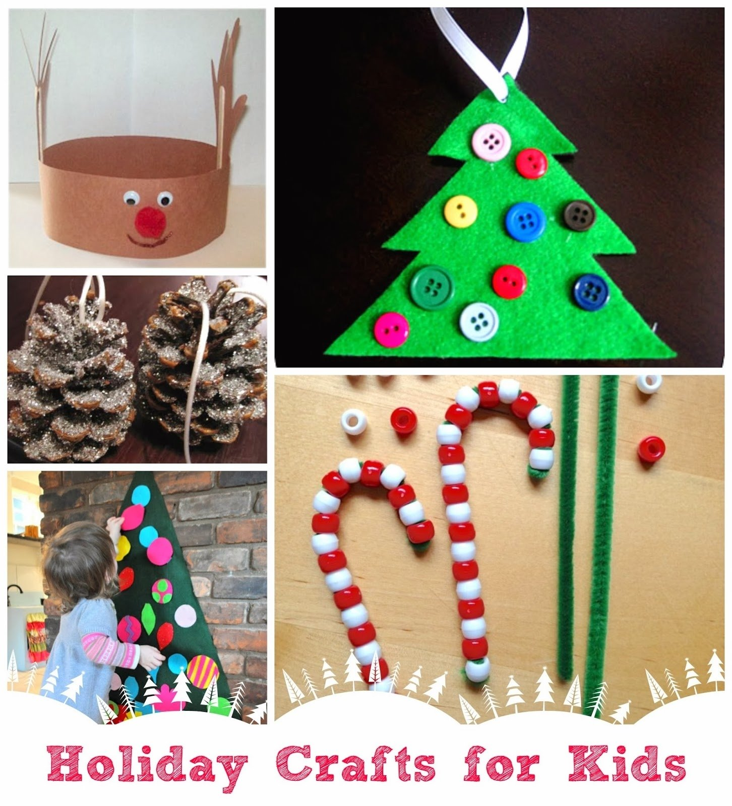 10 Gorgeous Christmas Ornament Craft Ideas For Kids parent talk matters blog holiday craft ideas for kids 2021