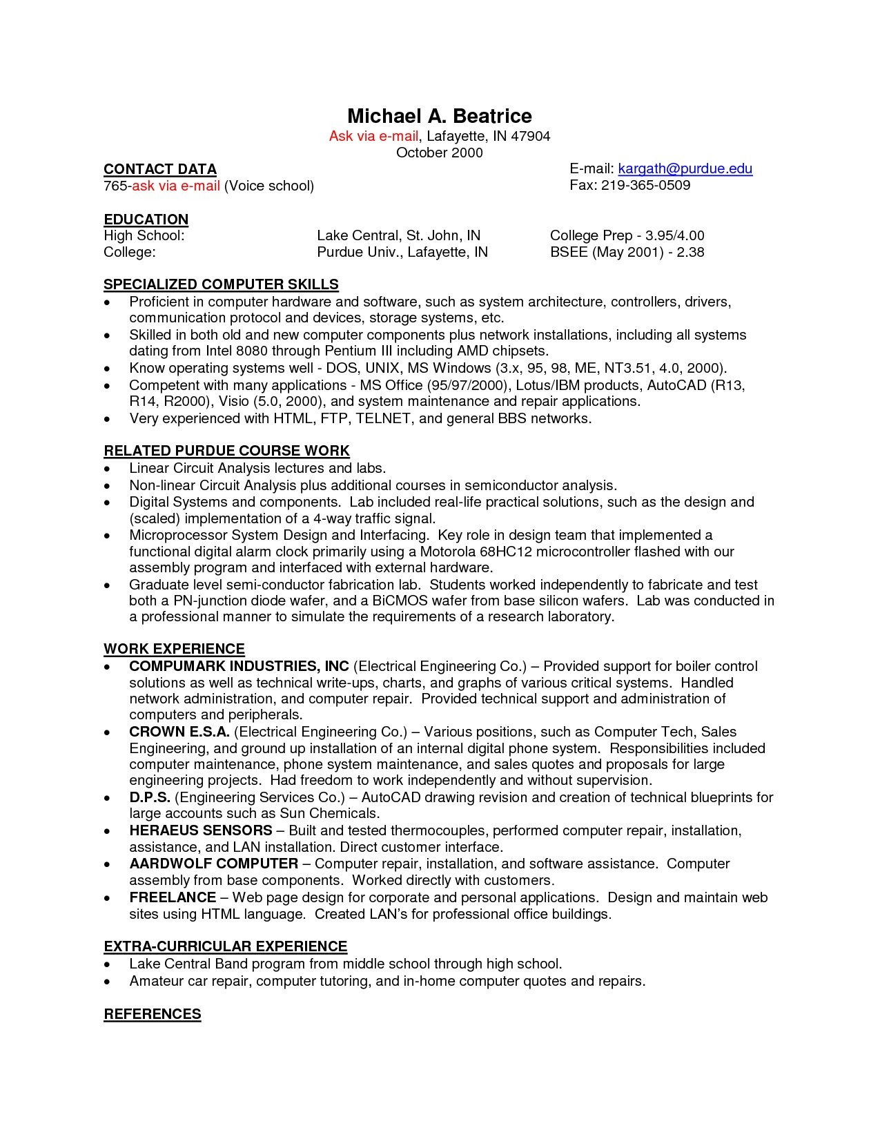 10 Trendy Ideas For Part Time Jobs part time jobs resume example best sample job resume examples for 2020