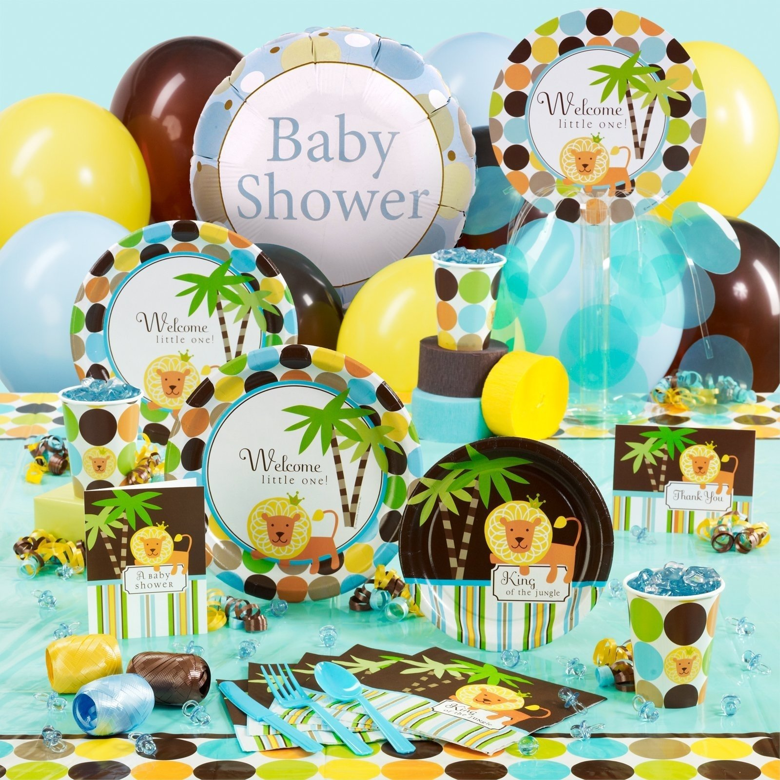10 Great Jungle Safari Baby Shower Ideas party city jungle safari baby shower e280a2 baby showers ideas