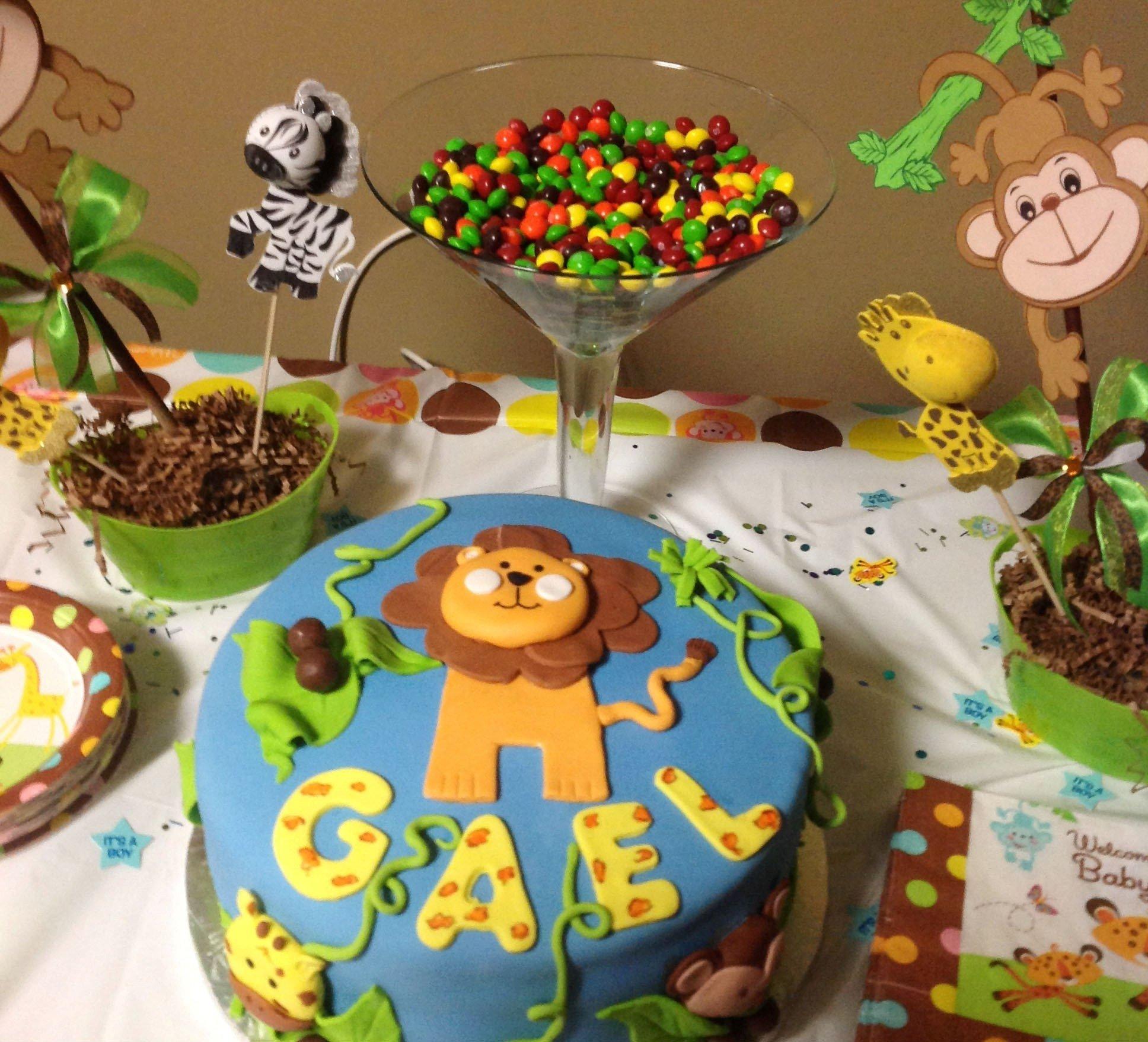 10 Famous Baby Shower Safari Theme Ideas party city safari baby shower theme liviroom decors party city 2020