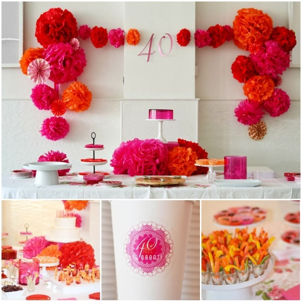 10 Famous Birthday Decoration Ideas For Adults party decoration ideas 40th birthday party idea living locurto 2020