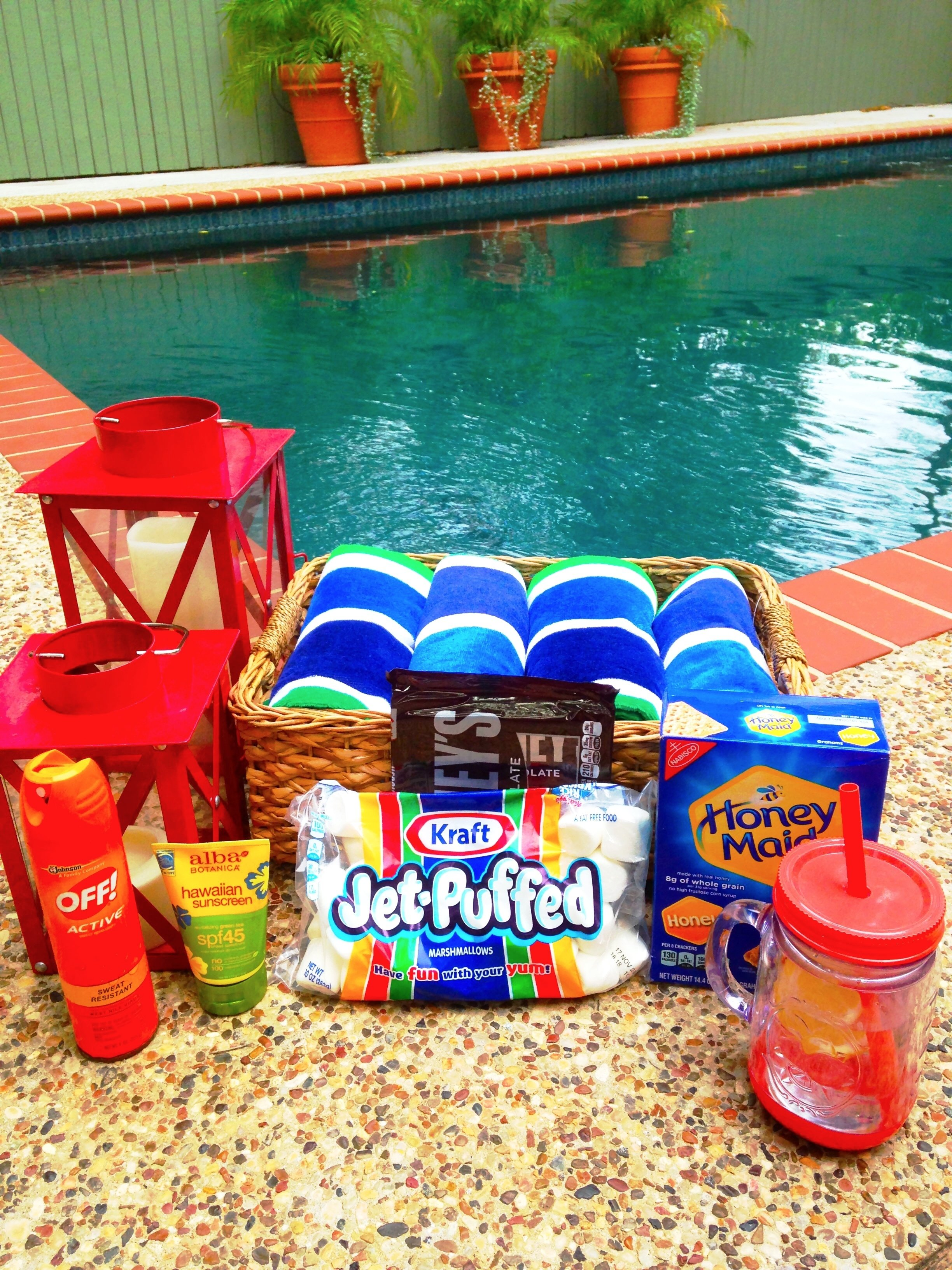 party etiquette: 8 festive 4th of july pool party ideas