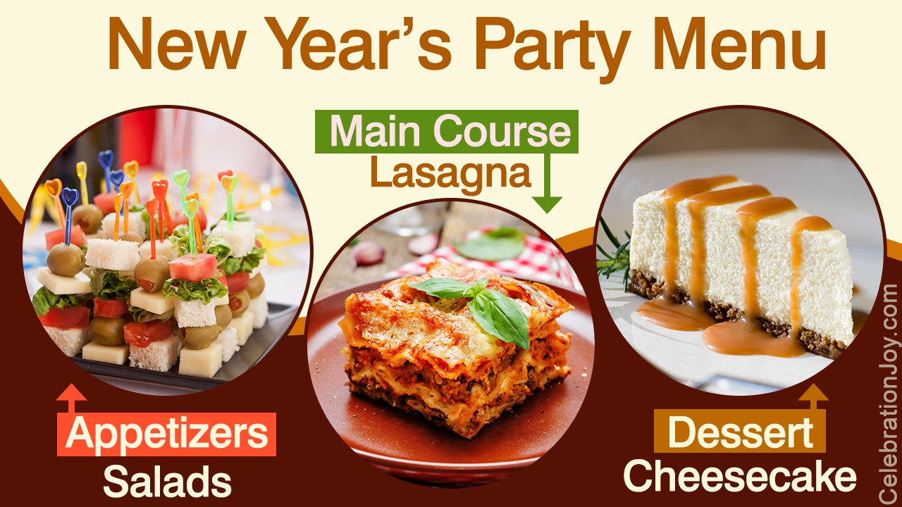 10 Lovely New Years Eve Dinner Menu Ideas party food ideas for new years eve 3