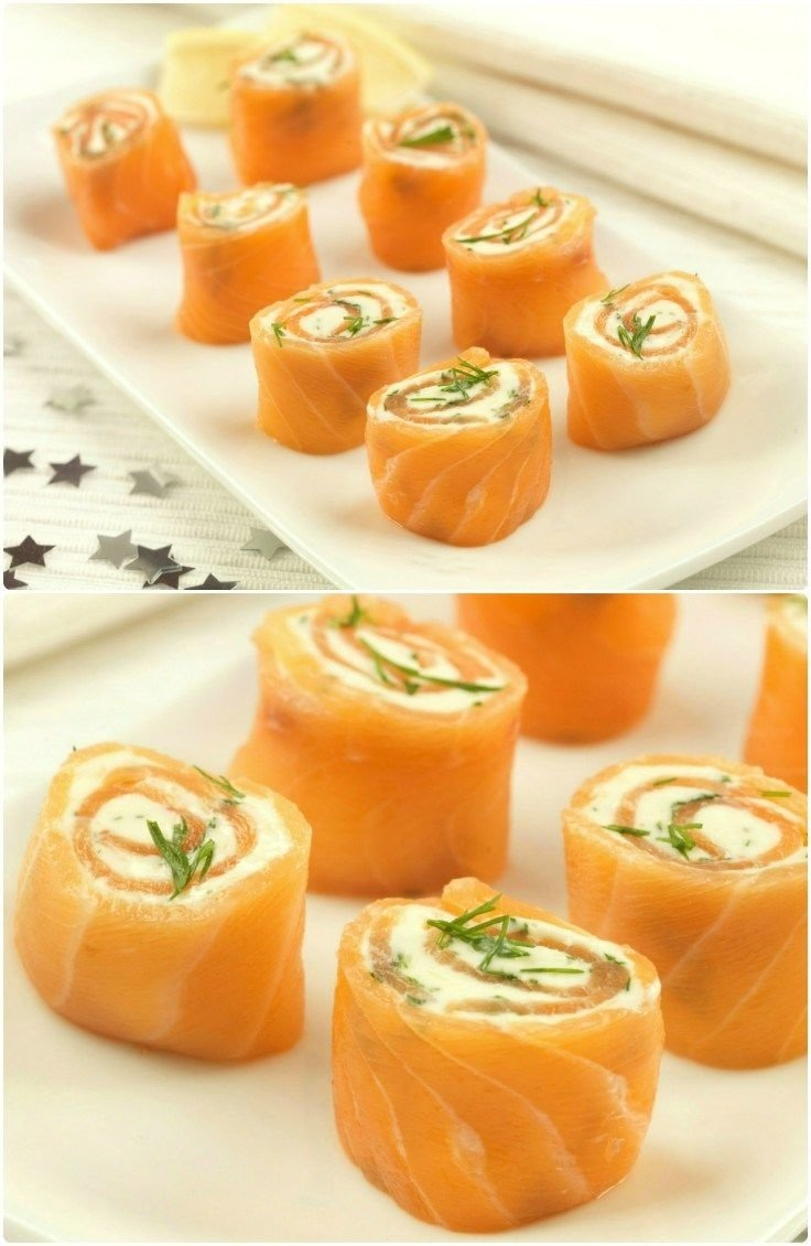 10 Beautiful Christmas Party Food Ideas For Adults party food recipes salmon pinwheels easy party food salmon and easy 1 2021