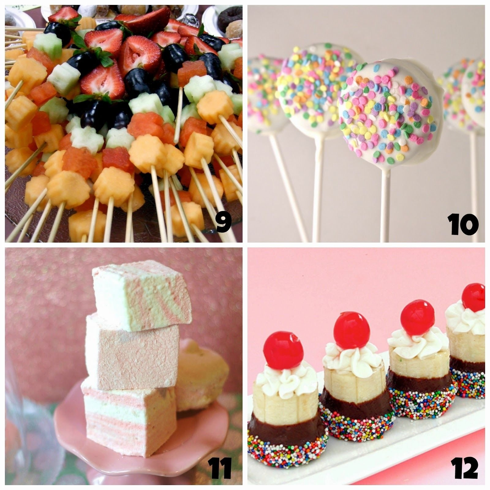 10 Stunning Birthday Food Ideas For Kids party fun for little ones recipes to try this week pinterest 2020