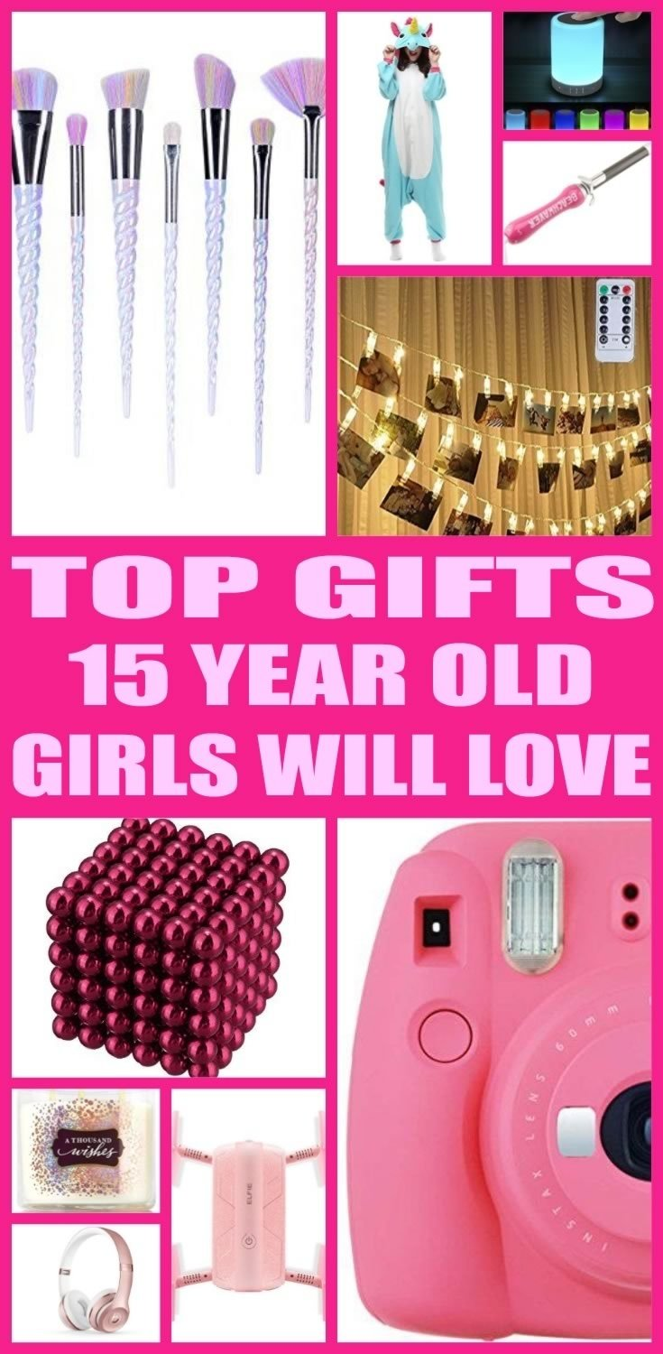 10 Fashionable Gift Ideas For A 15 Year Old Girl party gift ideas 4 2021
