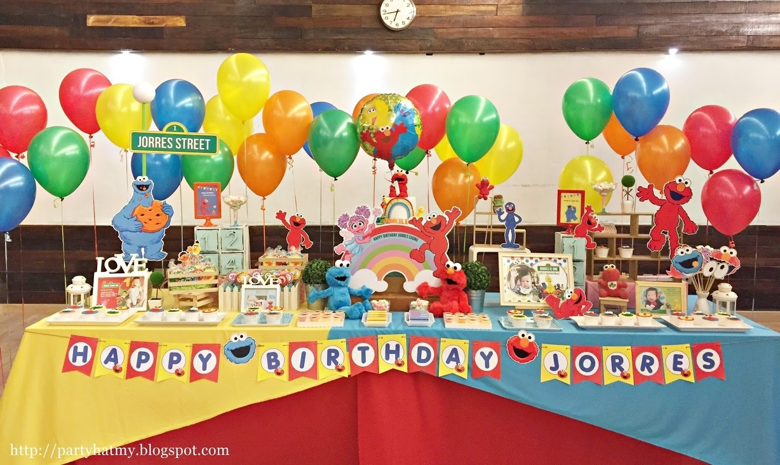 10 Most Recommended Sesame Street 1St Birthday Ideas party hat jorres sesame street first birthday party 2020