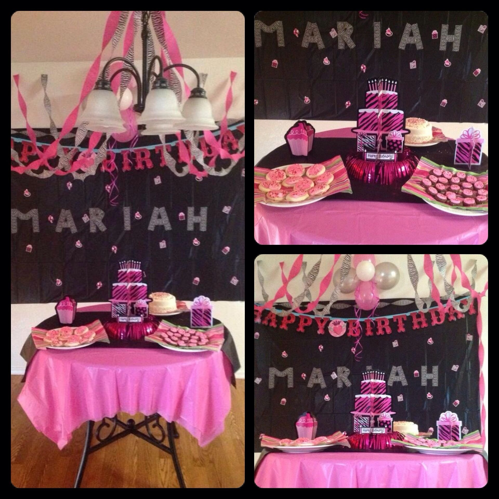 party ideas! had my 10 year old celebrate her birthday with some