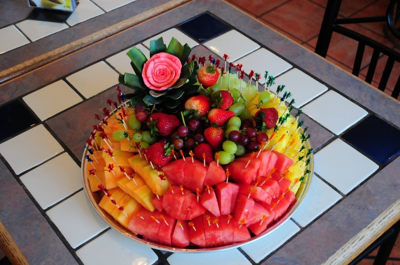 10 Attractive Fruit Tray Ideas For Parties party platters pics check out the el charro party platters 2021