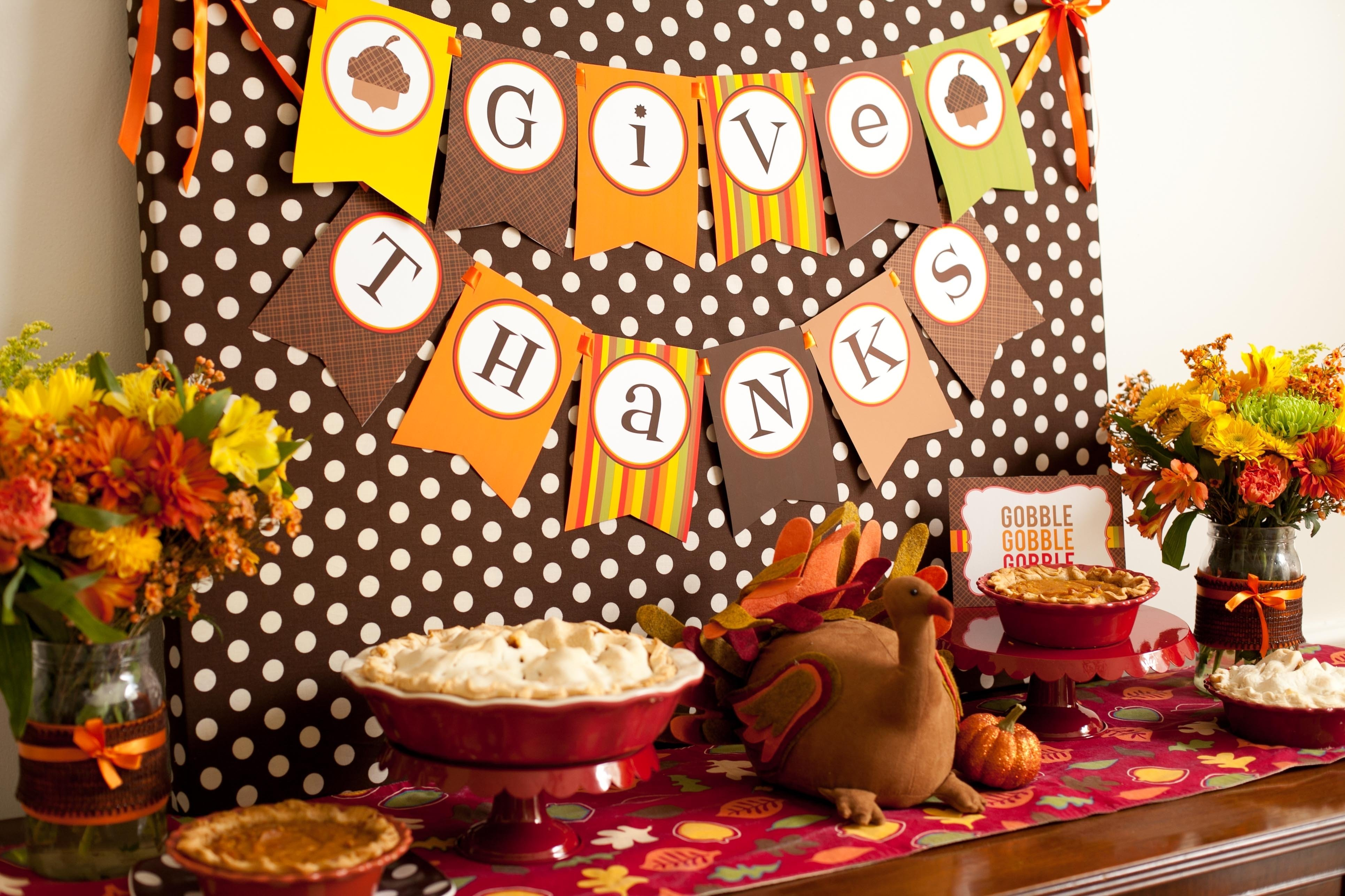 10 Nice Thanksgiving Party Ideas For Kids party reveal kid friendly thanksgiving table 2020