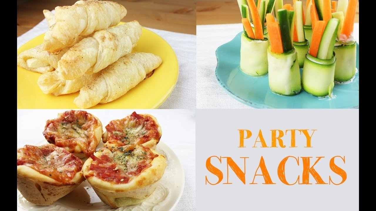 party snack ideas | easy and fast to make - youtube