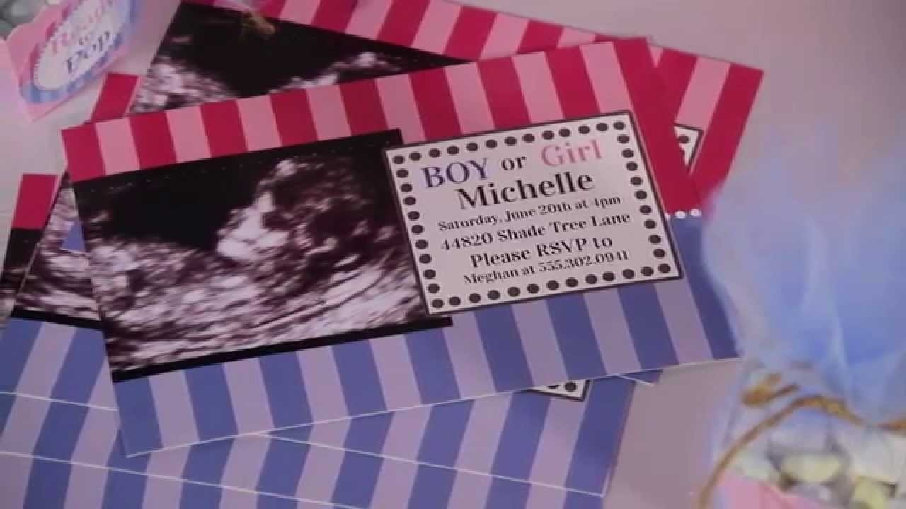 10 Most Popular Baby Shower Gender Reveal Ideas party supplies how to throw a baby shower gender reveal 2020