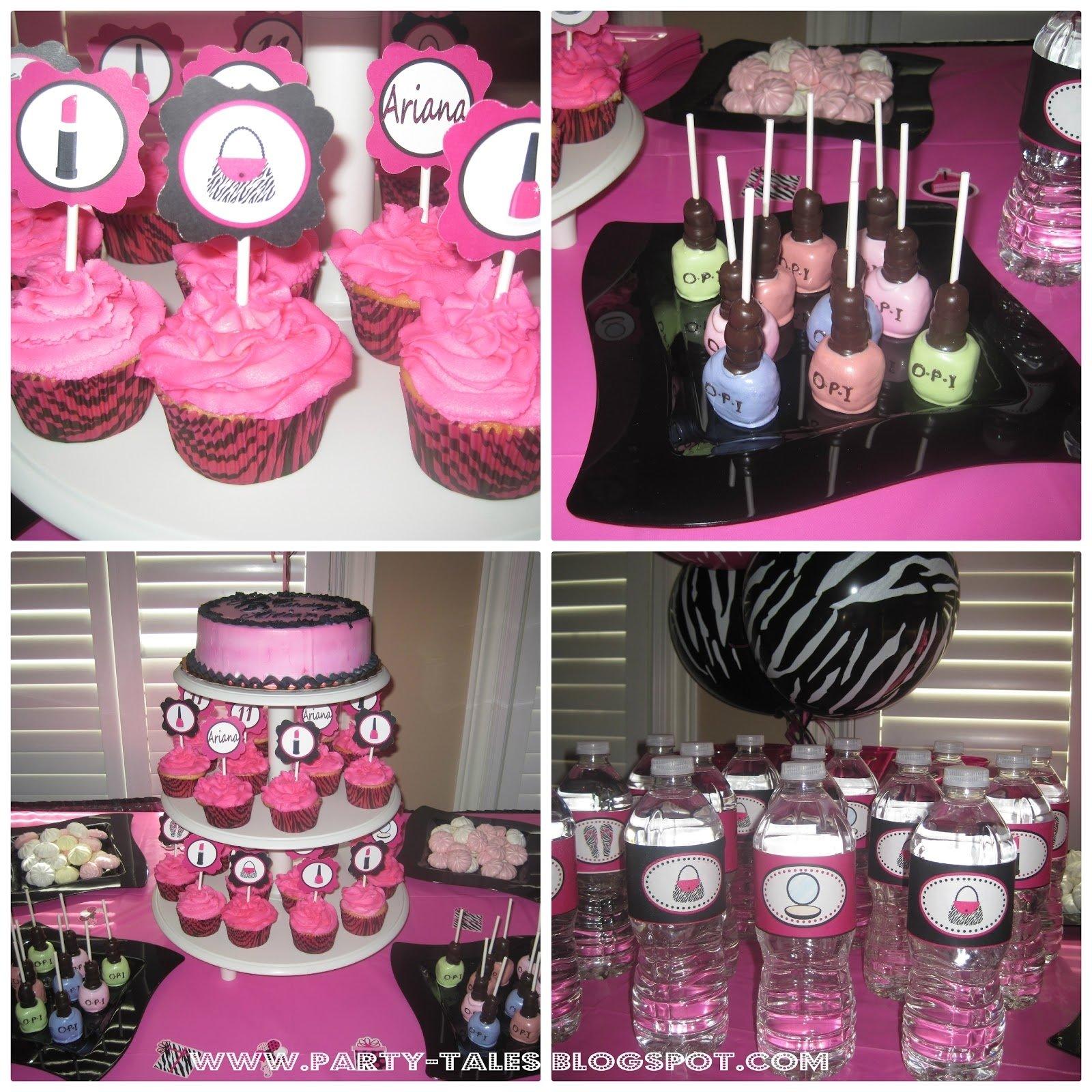 10 elegant zebra print birthday party ideas
