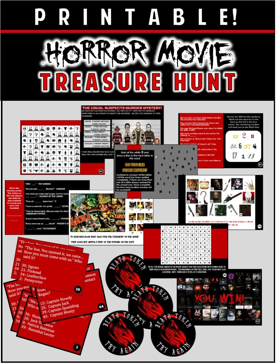 10 Unique Friday The 13Th Party Ideas party theme ideas and scary games