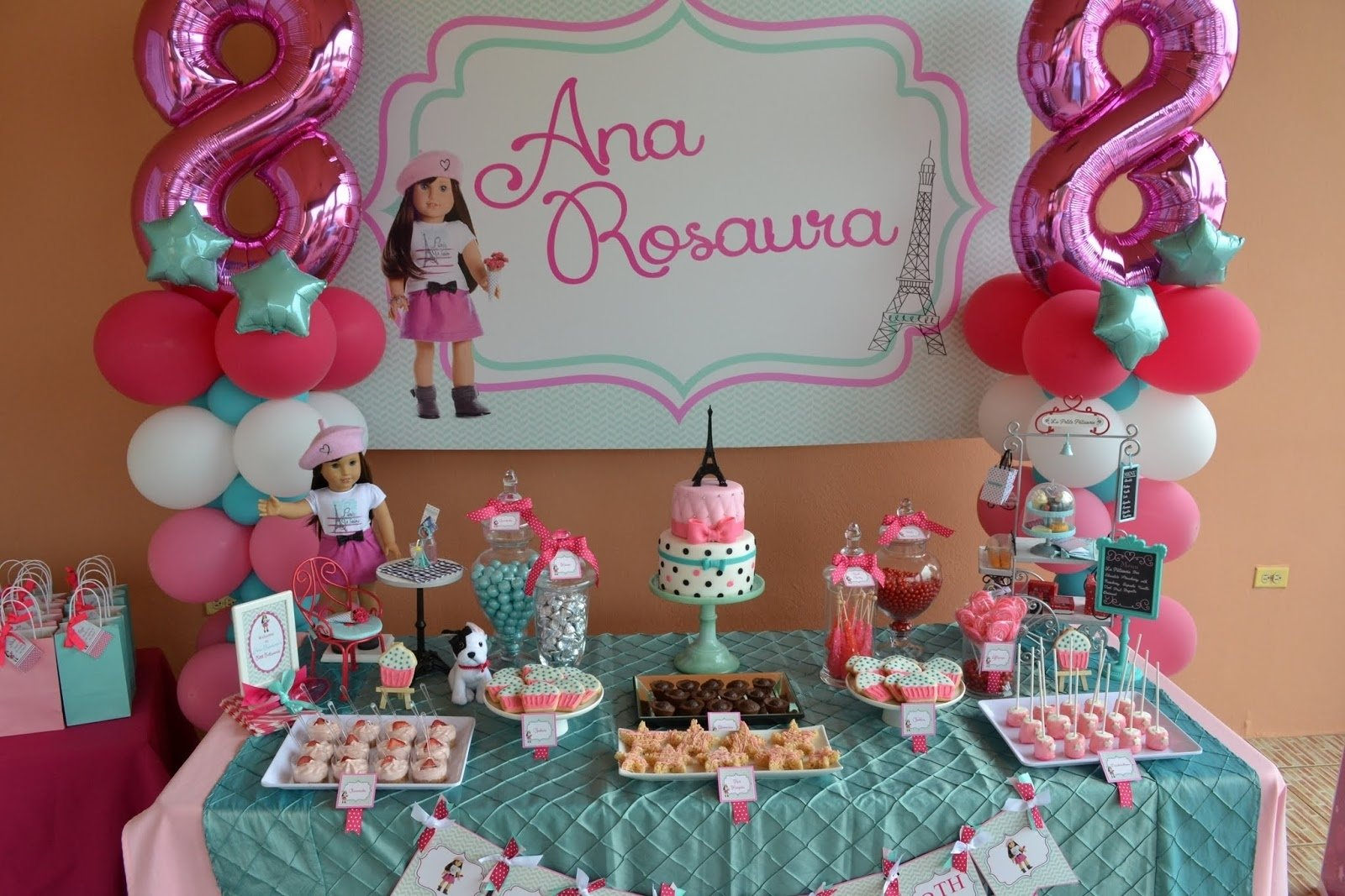 10 Spectacular American Girl Birthday Party Ideas partylicious events pr american girl cupcake party 3 2020