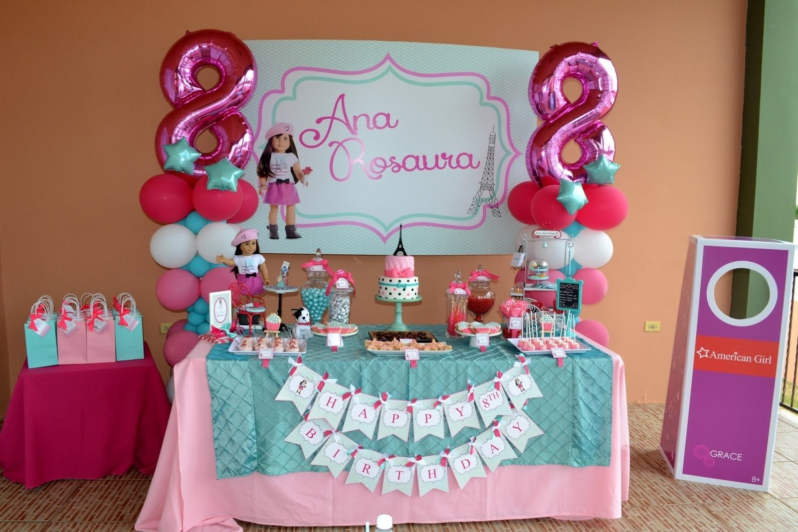 10 Attractive American Girl Doll Party Ideas partylicious events pr american girl cupcake party