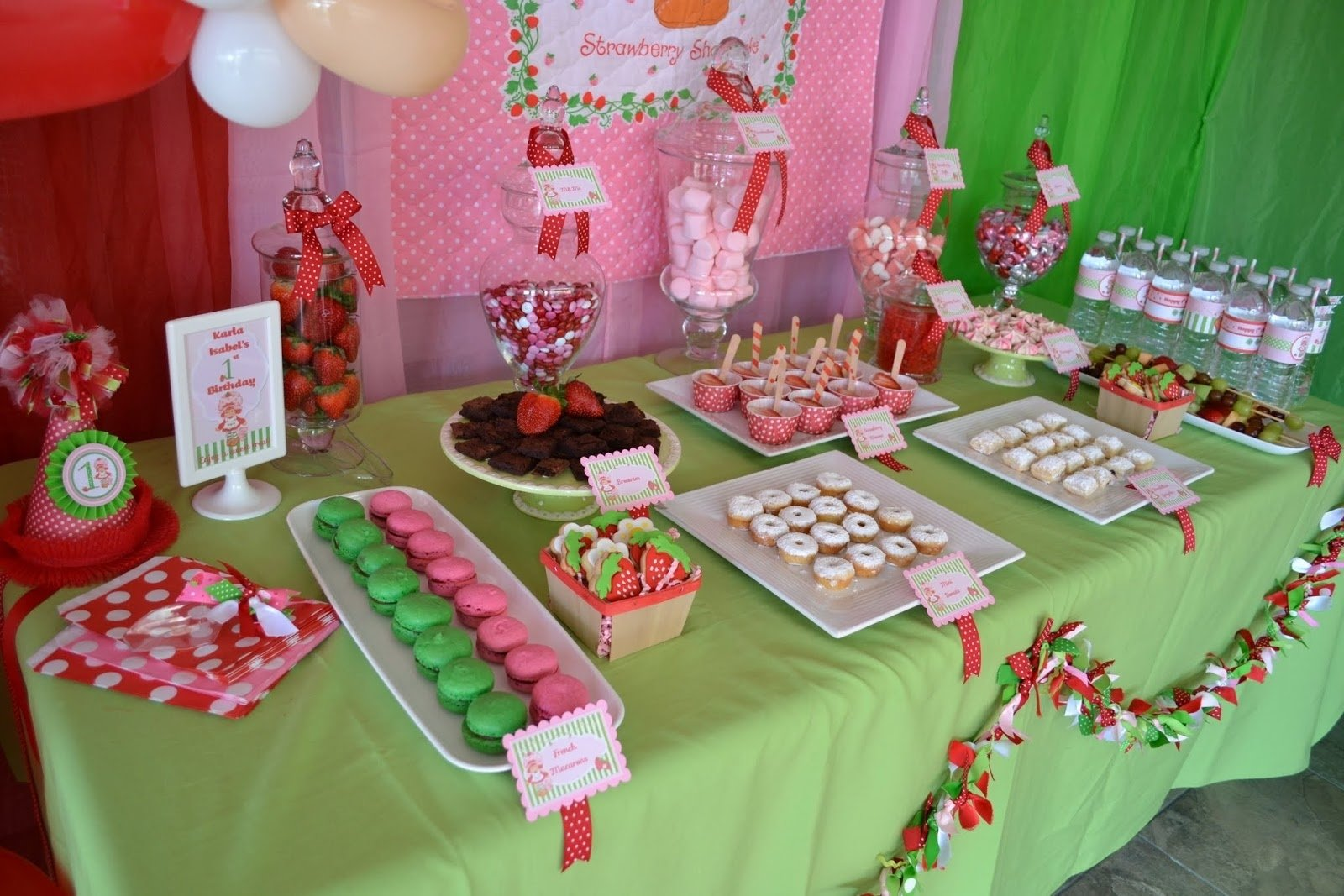 10 Attractive Strawberry Shortcake Birthday Party Ideas partylicious events pr vintage strawberry shortcake birthday 2021