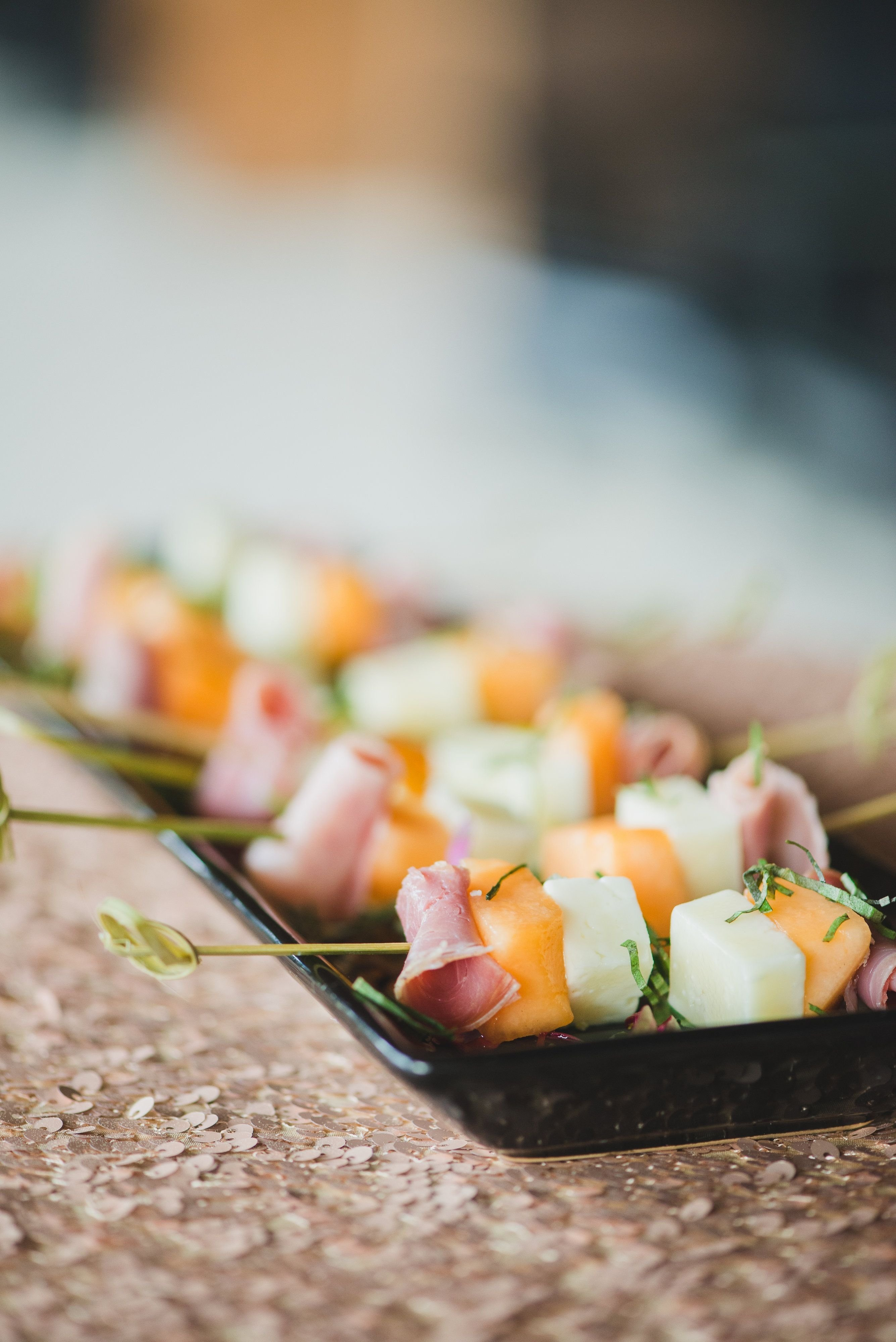 10 Nice Passed Hors D Oeuvres Ideas passed hors doeuvres prosciutto melon and manchego skewers 2021