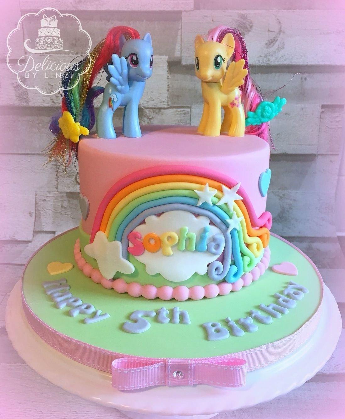 10 Elegant My Little Pony Cake Ideas pastel my little pony birthday cake www deliciousbylinzi co uk