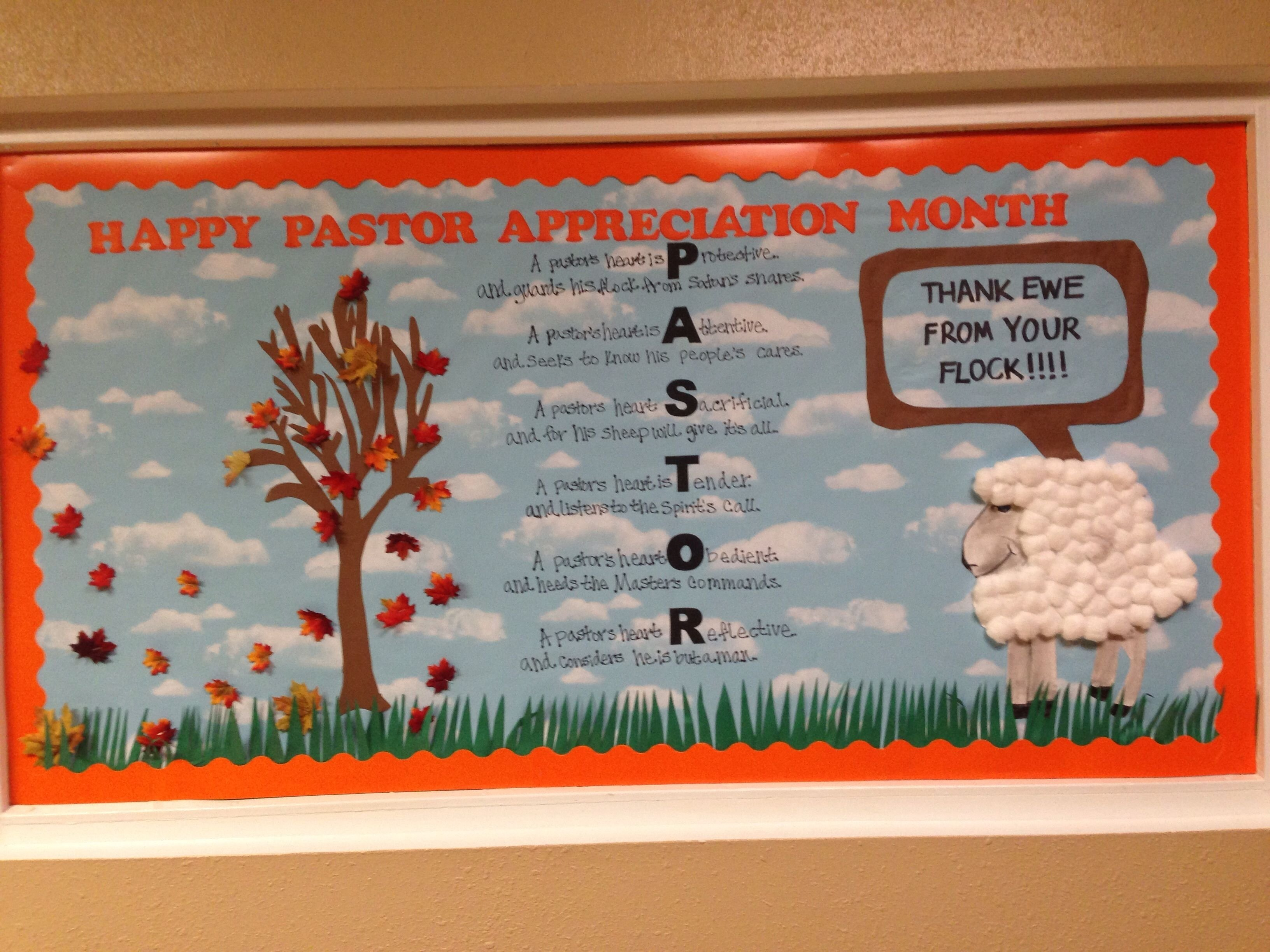 10 Stylish Ideas For Pastor Appreciation Month pastor appreciation ideas pastor appreciation bulletin board vbs 1 2020