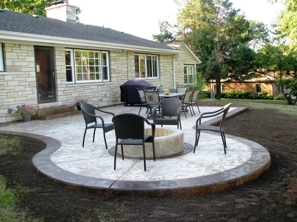patio decoration : old concrete patio ideas concrete patio ideas for