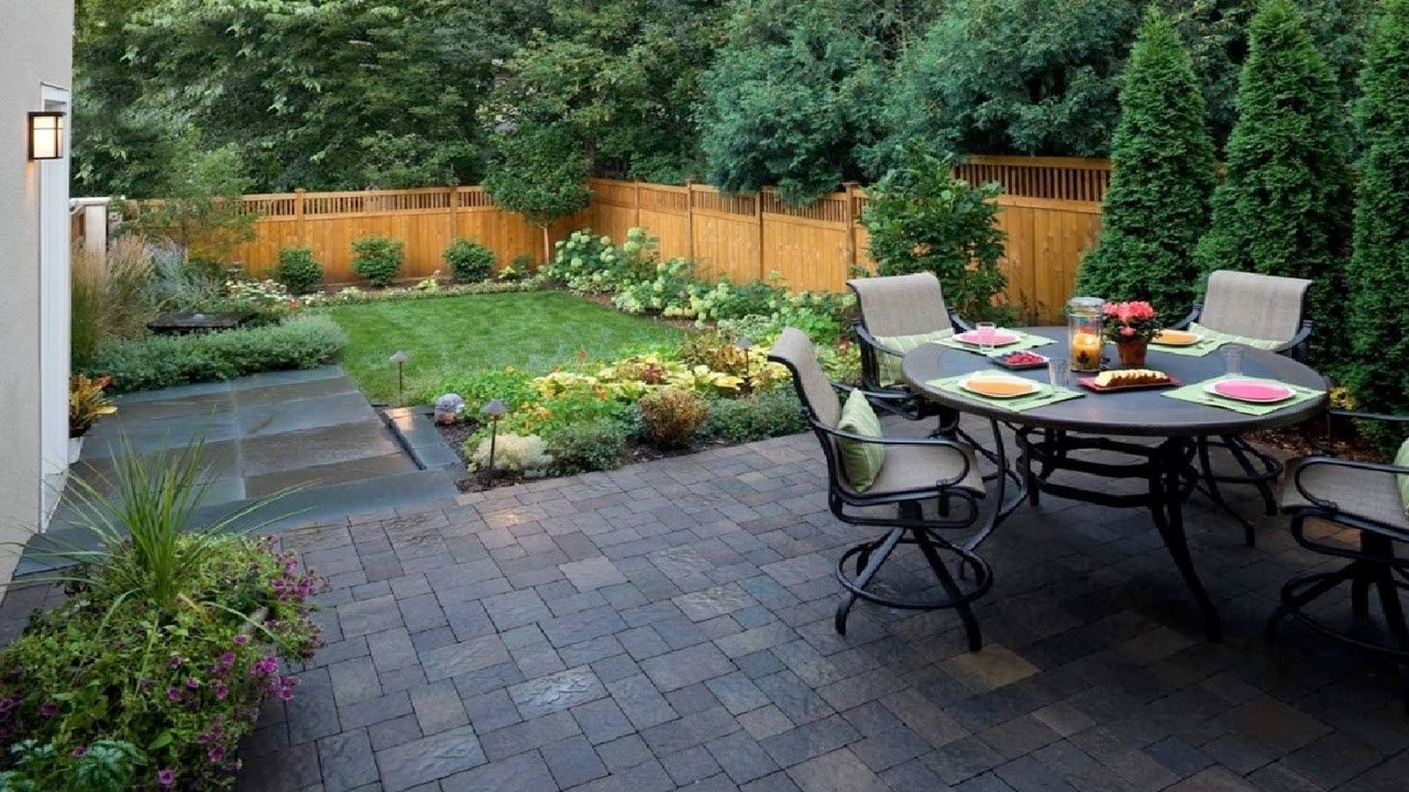 10 Cute Garden Ideas For Small Yards patio design ideas for small backyards patio ideas landscape design 2020