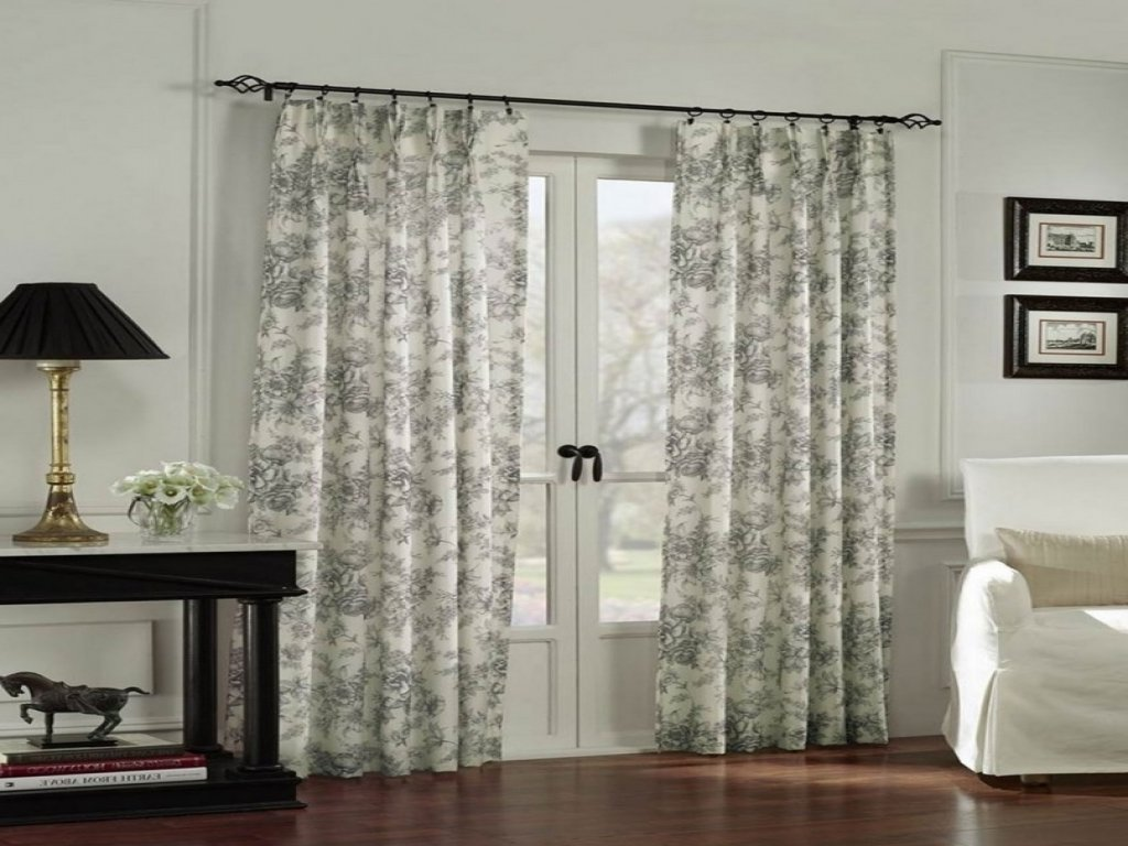 10 Stylish Curtain Ideas For French Doors patio door coverings curtains grande room patio door coverings 2020