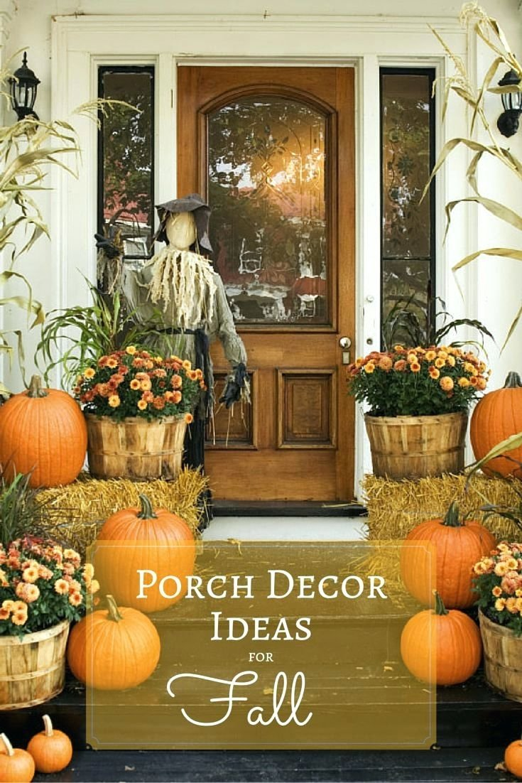 10 Awesome Fall Decorating Ideas For Outside patio ideas best 25 outside fall decorations ideas on pinterest 2020